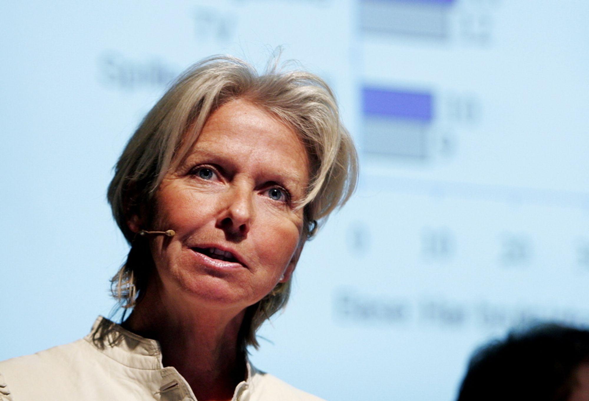 MOBIL OG BREDBÅND: Berit Kjøll har tidligere ledet mobil- og bredbåndsarbeidet i Telenor og går nå over til den kinesiske infrastrukturspesialisten Huawei.