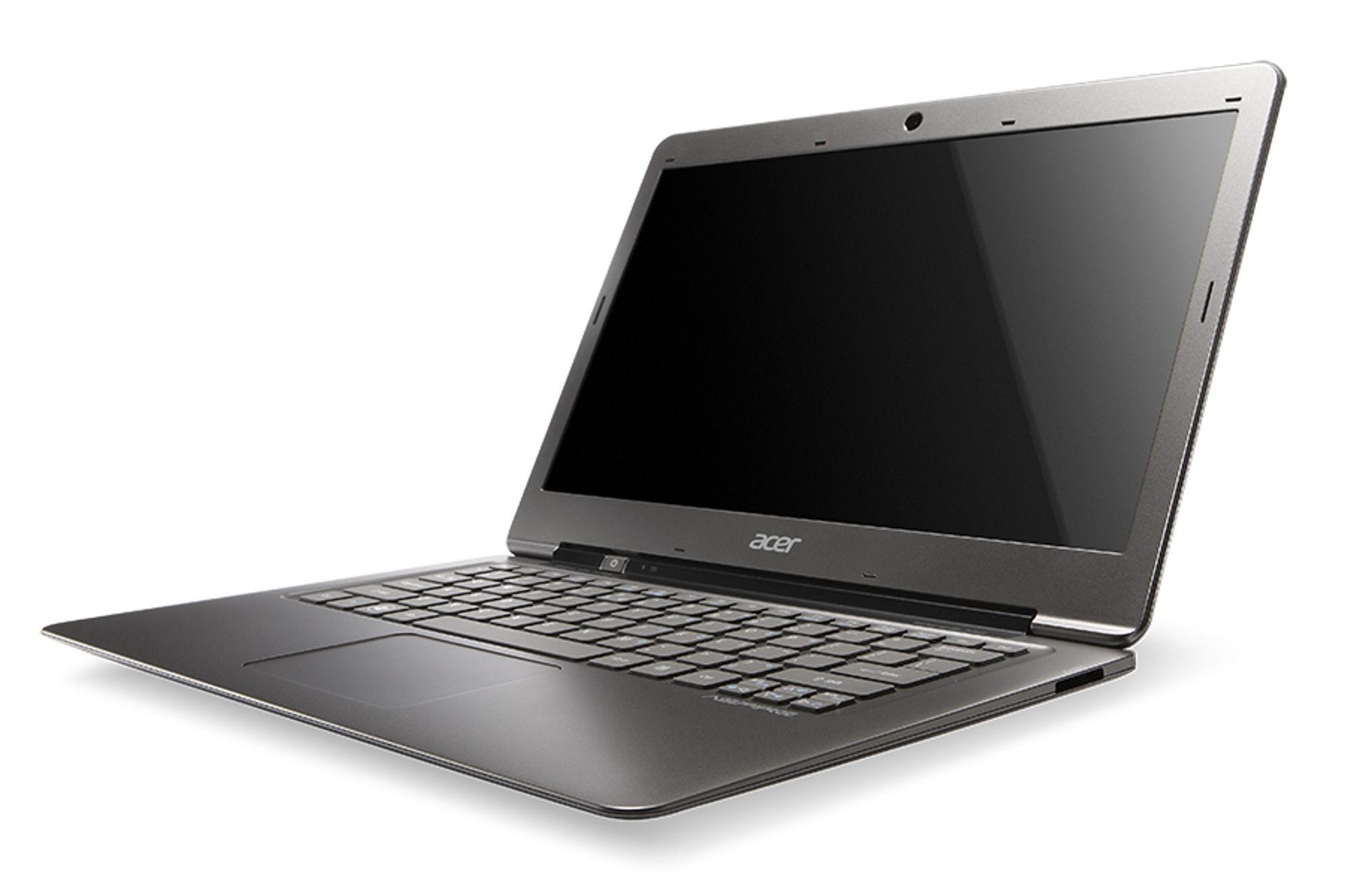 Acer Aspire S3 blir den billigste av de lanserte ultrabookene, med en startpris på 799 euro, snaut 6400 kroner.