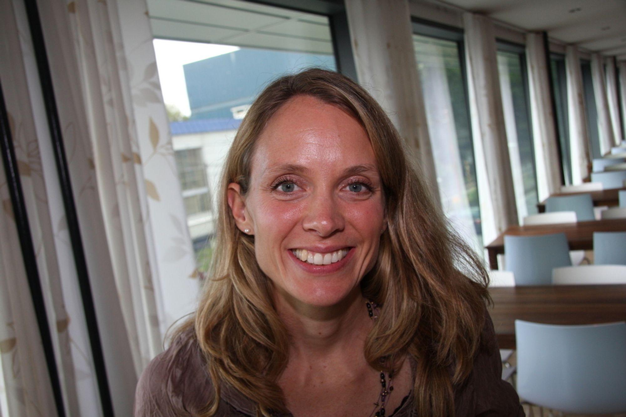 ETTERLYSER GODT HÅNDVERK: - Nøkkelen til mer miljøvennlige bygg ligger mye i et godt håndverk, sier Kirsti Gimnes Are, sivilingeniør og miljørådgiver hos Rambøll.
