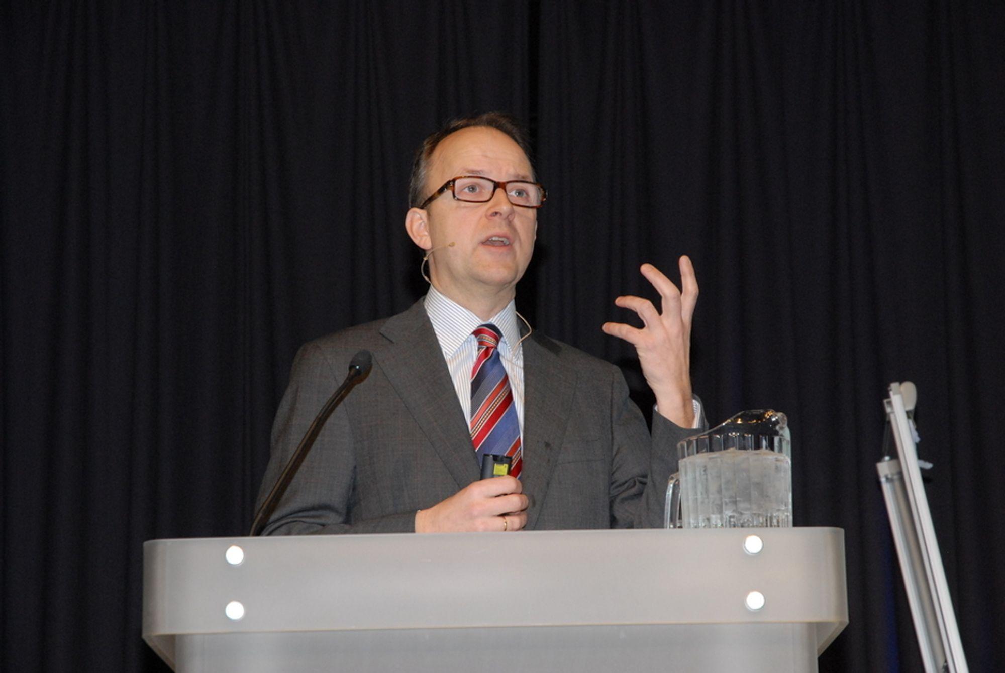 Administrerende direktør Oluf Ulseth i Energi Norge
