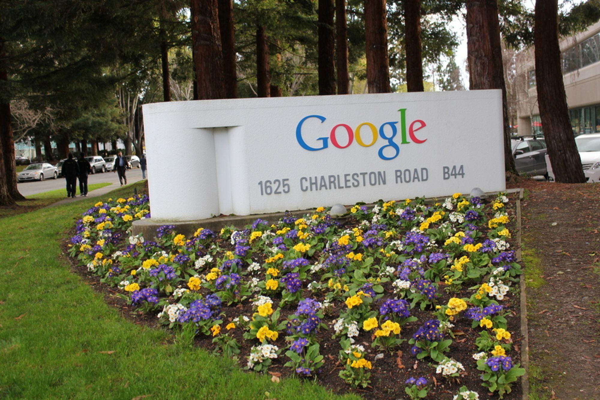 GOOGLEPLEX: Hovedkvarteret til Google rommer over 8000 ansatte over flere kvartaler.