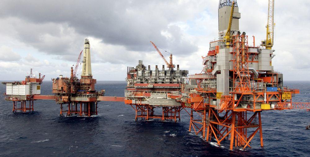 BP Norge  Valhallfeltet .