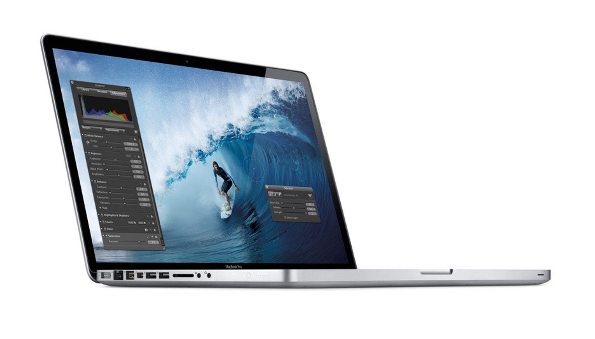 Apples nye Macbook Pro får oppgradert kamera og kraftigere innmat.