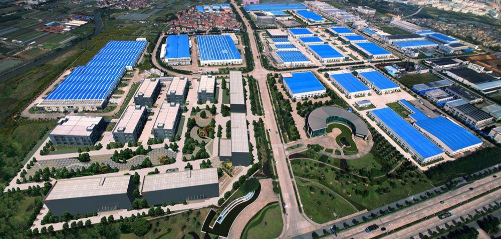 ET LITE STYKKE NORGE I KINA: 290.000 m2 med plass for nordiske bedrifter til å etablere seg i Kina.
