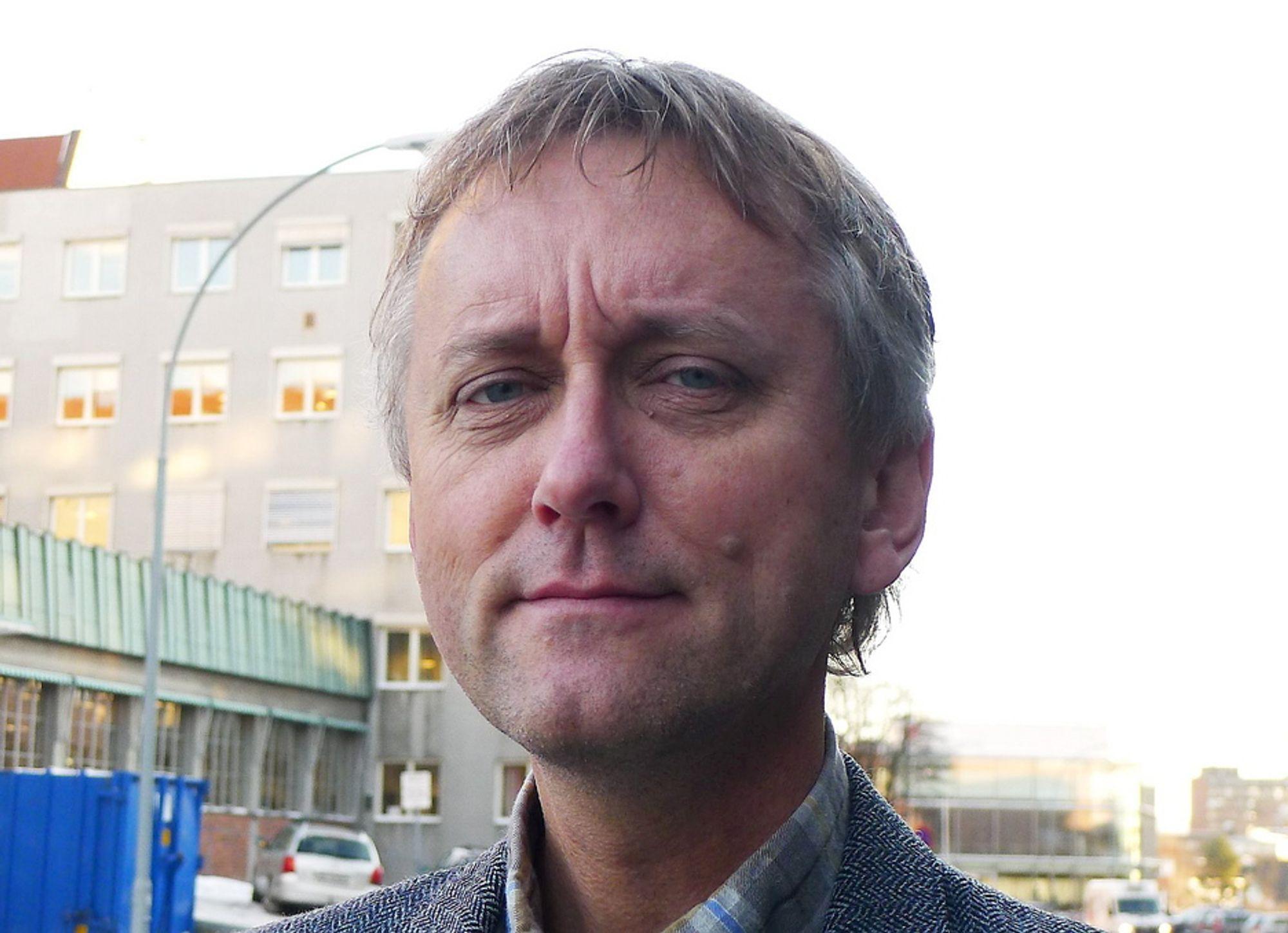 ETTERLYSER KLIMA:- Vi må gjøre klimagassreduserende tiltak, men i Hardanger vil alle heller ha mobile gasskraftverk før kraftlinjer, sier energiforsker Audun Ruud.