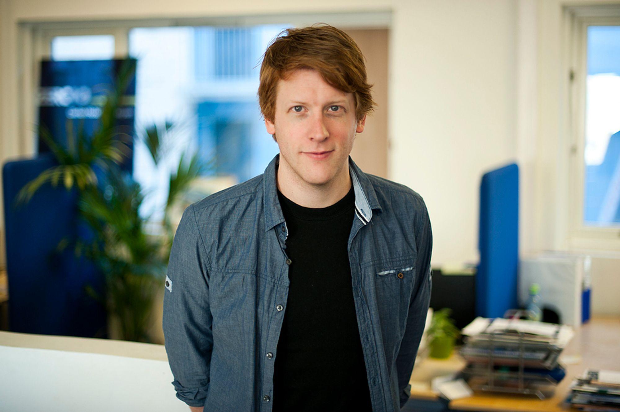 MER MILJØ: Martin Henriksen (32), går fra AUF til Zero.