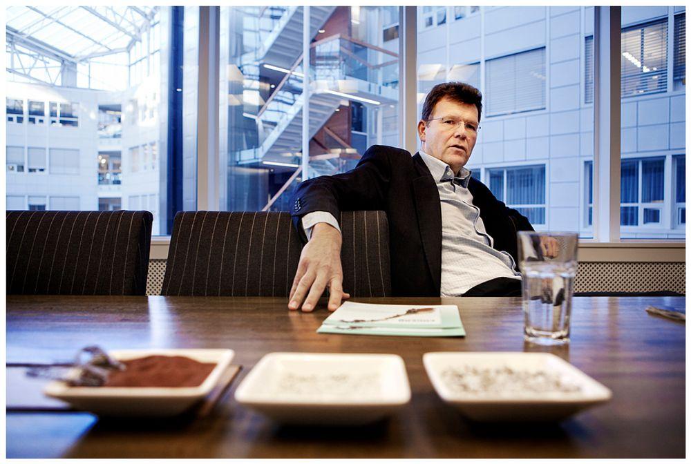 OPTIMIST: Rutilutvinningen i Engebøfjellet skal etter planen starte opp i 2015. Ivar S. Fossum i Nordic Mining tror det er fullt mulig å få nok kvalifisert personell til å drifte gruven.