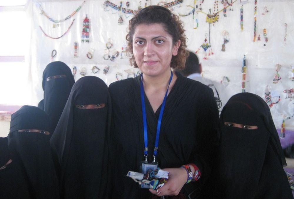BEREDSKAP: Prosjektingeniør Asmae Abusharkh fra Haugesund har tatt to perioder med beredskapsinnsats for Norcap I Hebron og Yemen.