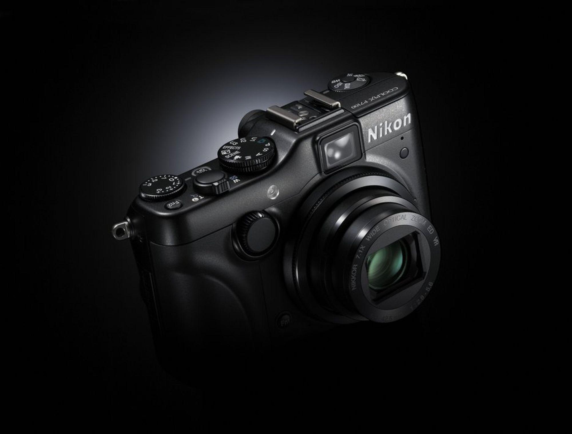 P7100 er Nikons nye flaggskip i Coolpix-serien.