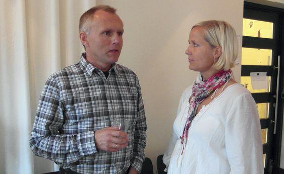 Kjell Ivar Nesvår er hovedverneombud i Statoil og har samarbeidet en del med Splint. Maiken McCormick er kreativ leder hos Splint.