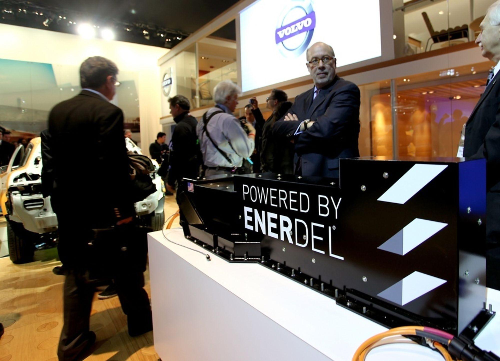 EnerDel, datterselskapet til Ener1, leverer batterier til flere elbiler, også Volvo C30 electric.