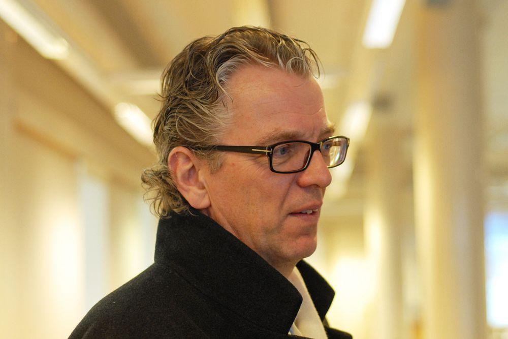 LOVER OPPDRAG: Statnett skal bruke 40 milliarder kroner de nærmeste ti årene, så det vil være nok prosjekter også for de norske entreprenørene, sier Statnett-sjef Auke Lont.