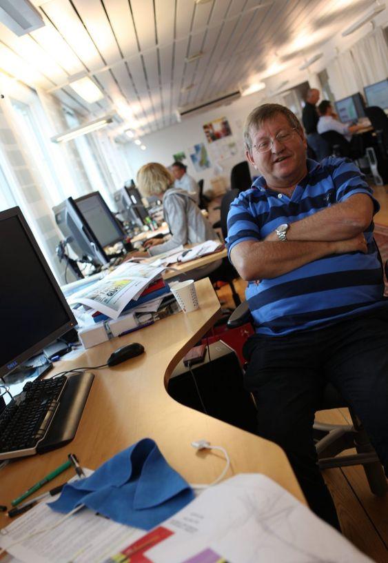 ANNERLEDES: Letesjef i Lundin Hans Christian Rønnevik bruker utradisjonelle metoder for å finne olje der ingen andre tror den finnes.