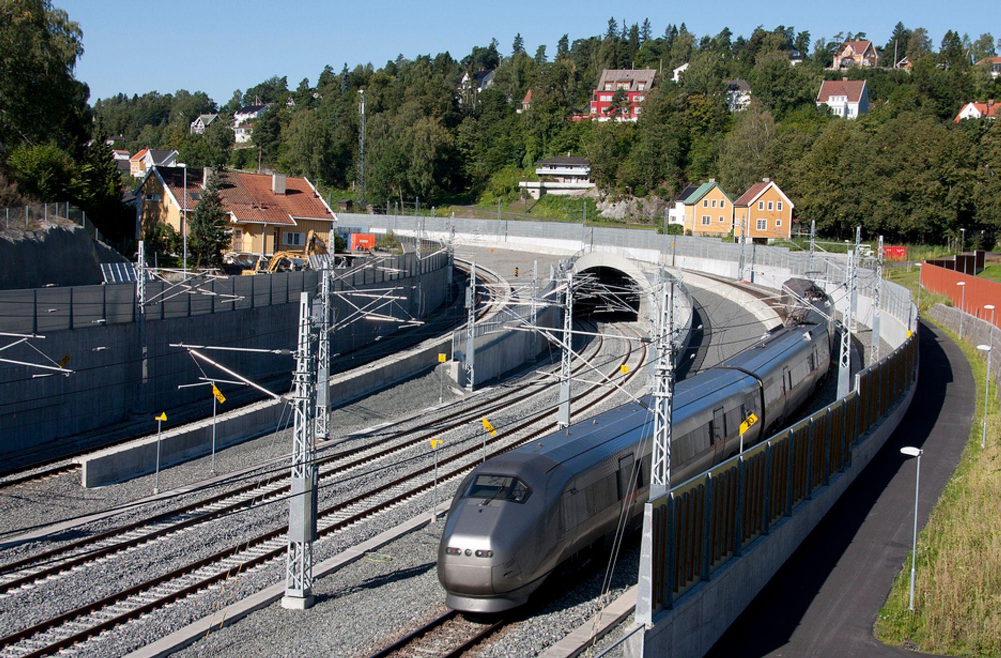 TOG: Farten på jernbaneutbygging øker noe.