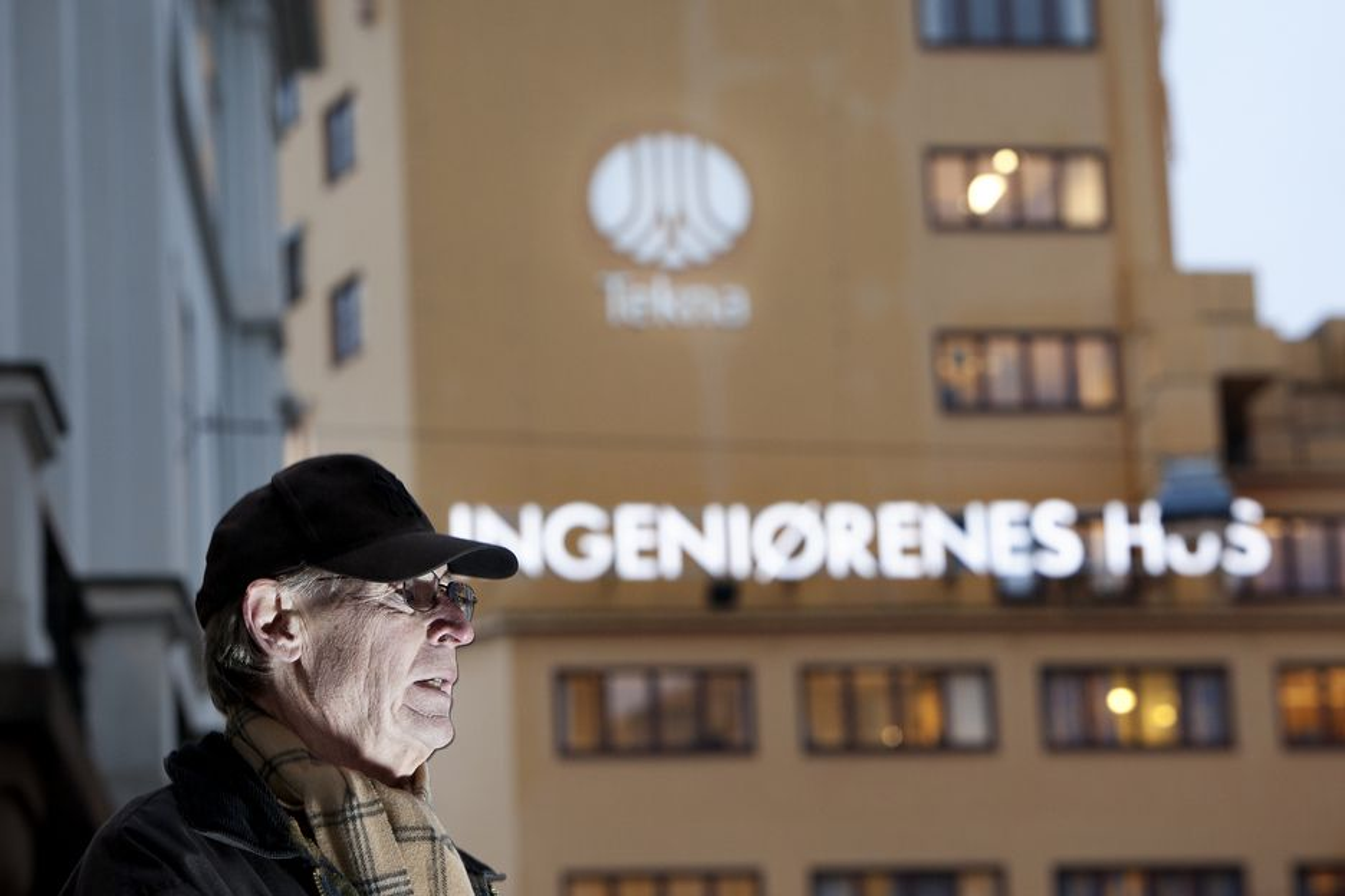 PROTESTERER:  Jon Sverre Svendsen er opprørt over det han oppfatter som billigsalg av Ingeniørenes hus uten at medlemmene i Tekna har fått tilstrekkelig informasjon.