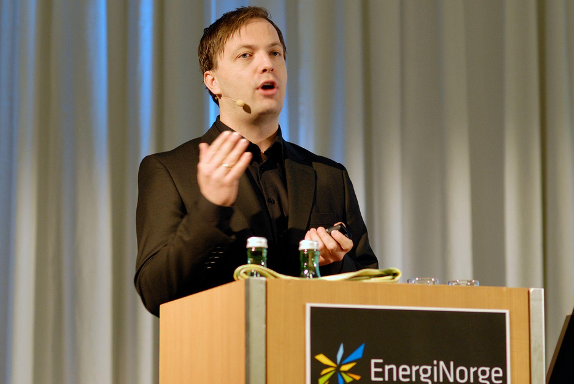 ESTETIKK MINDRE VIKTIG: Rene estetiske hensyn bør ikke kunne stoppe ny fornybar produksjon, mener Zero-leder Einar Håndlykken.