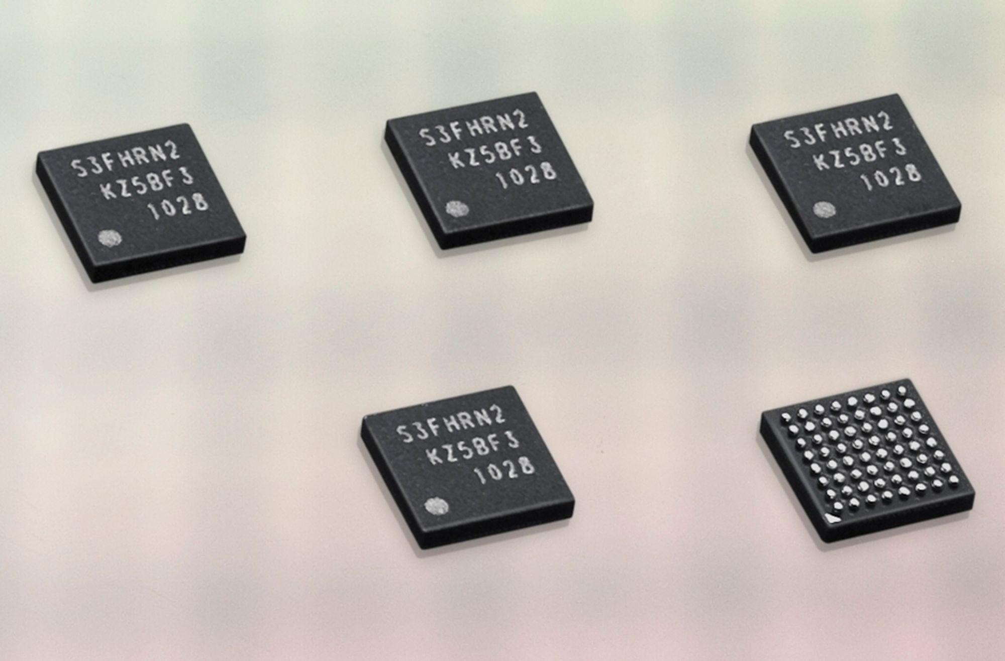GJERRIG: Den nye NFC-brikken skal være så gjerrig på strømforbruket at den skal fungere selv om mobilbatteriet er utladet.