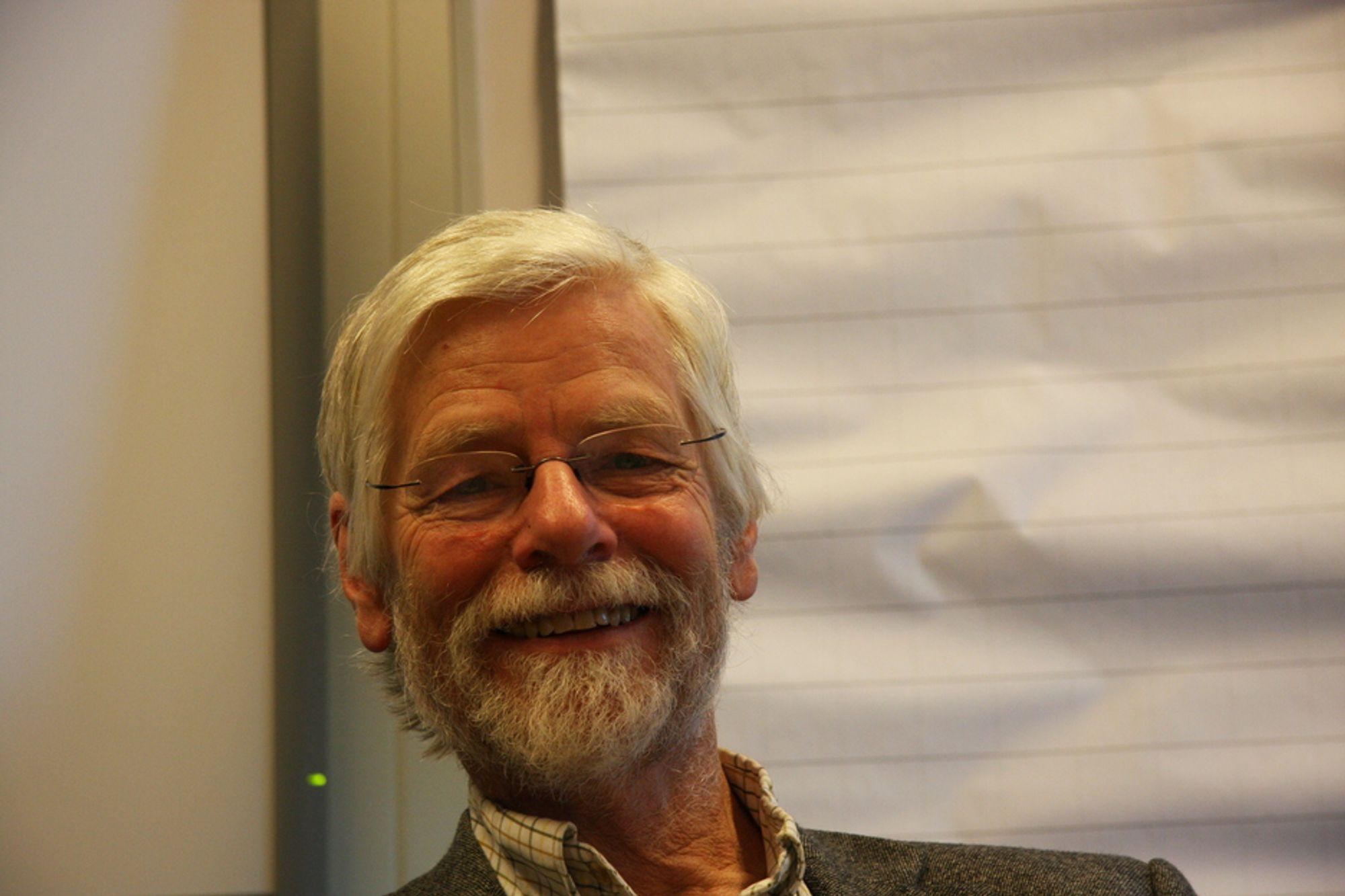 EKSPORTØREN: Peter Butenschøn er prosjektleder for arkitektureksport. Han er overbevist om at mulighetene er store.
