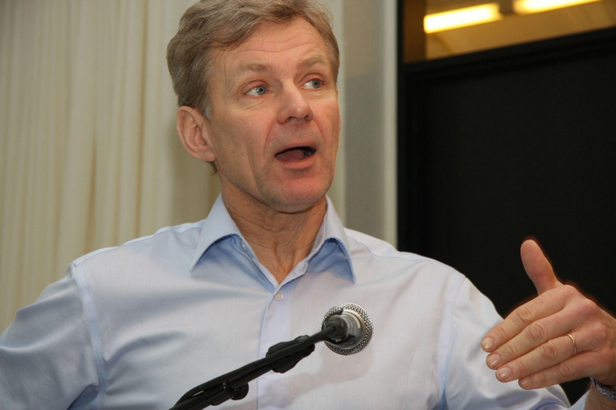 ENIGE: - En ny global varslingstjeneste er en av de få ting det er full enighet om i klimasaken, sier Jan Egeland.