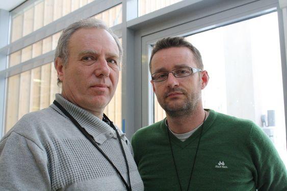 ERFARING: Politioverbetjent Per Olaf Torkildsen fra Oslo politidistrikt og teknisk rådgiver Tore Jensen fra Geodata samarbeidet tett under tsunamikatastrofen i Sørøst-Asia i 2004.