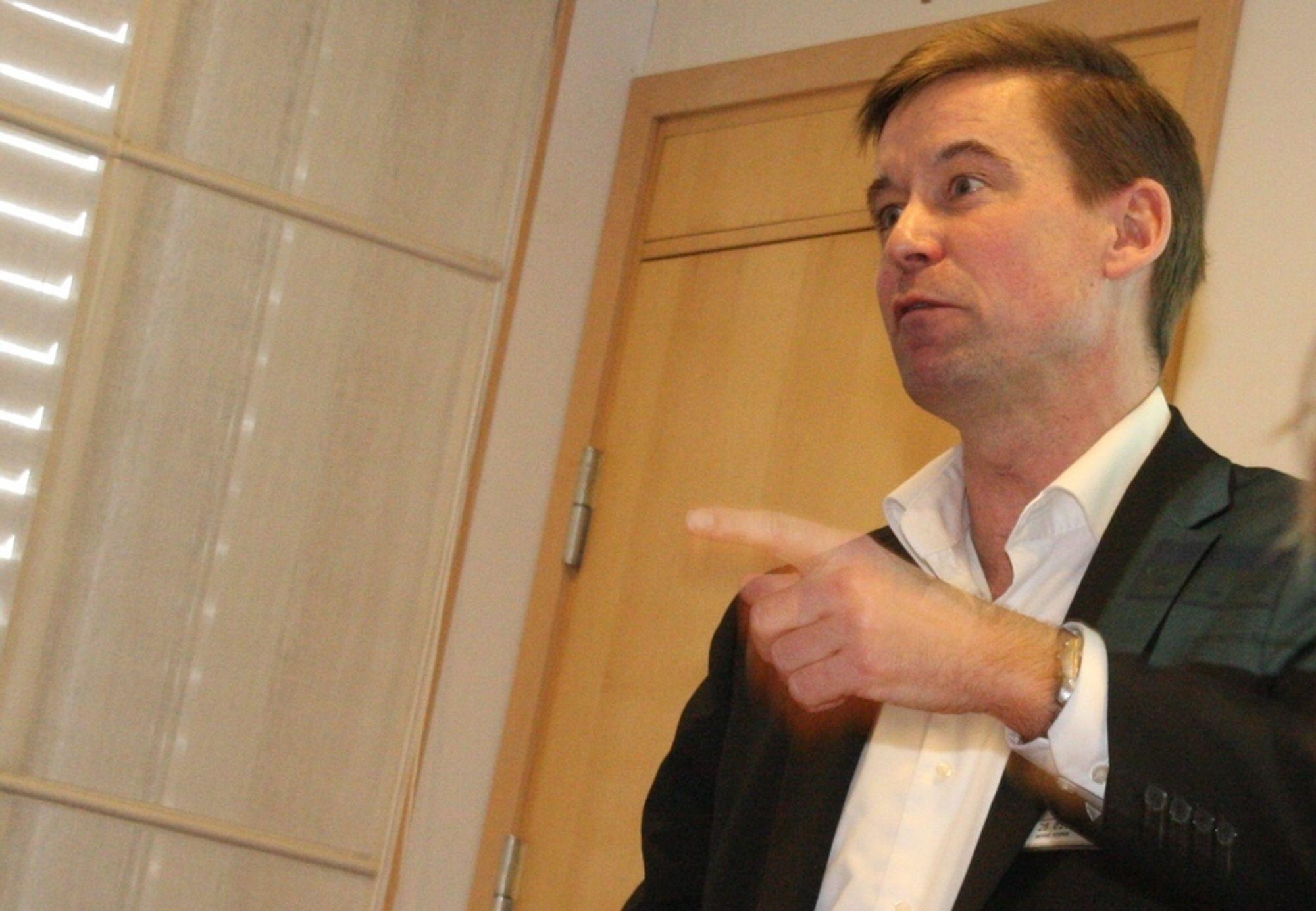 SYMBOL: Kontrakten med NRK har stor symbolverdi for Netcom og administreredne direktør August Baumann.