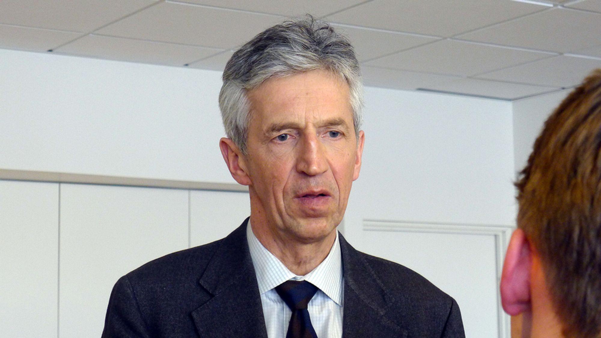 IKKE KATASTROFE: - Ord som kjernefysisk katastrofe passer ikke i denne sammenheng, sier strålevern-direktør Ole Harbitz.
