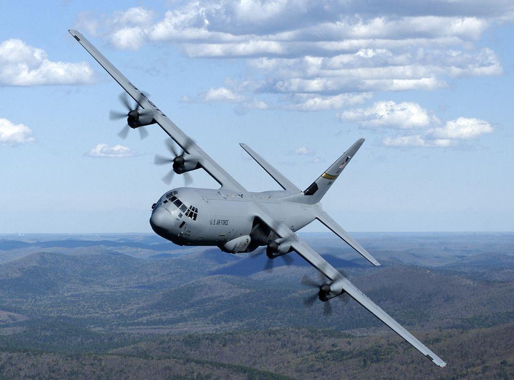 AMERIKANSK: Forsvaret  har inngått kontrakt om kjøp av fire Hercules C-130J transportfly til en verdi av 3,3 milliarder kroner.