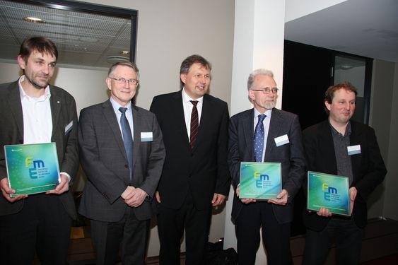 Nye FME-er utpekt 15. februar 2011. Riis-Johansen blant andre.