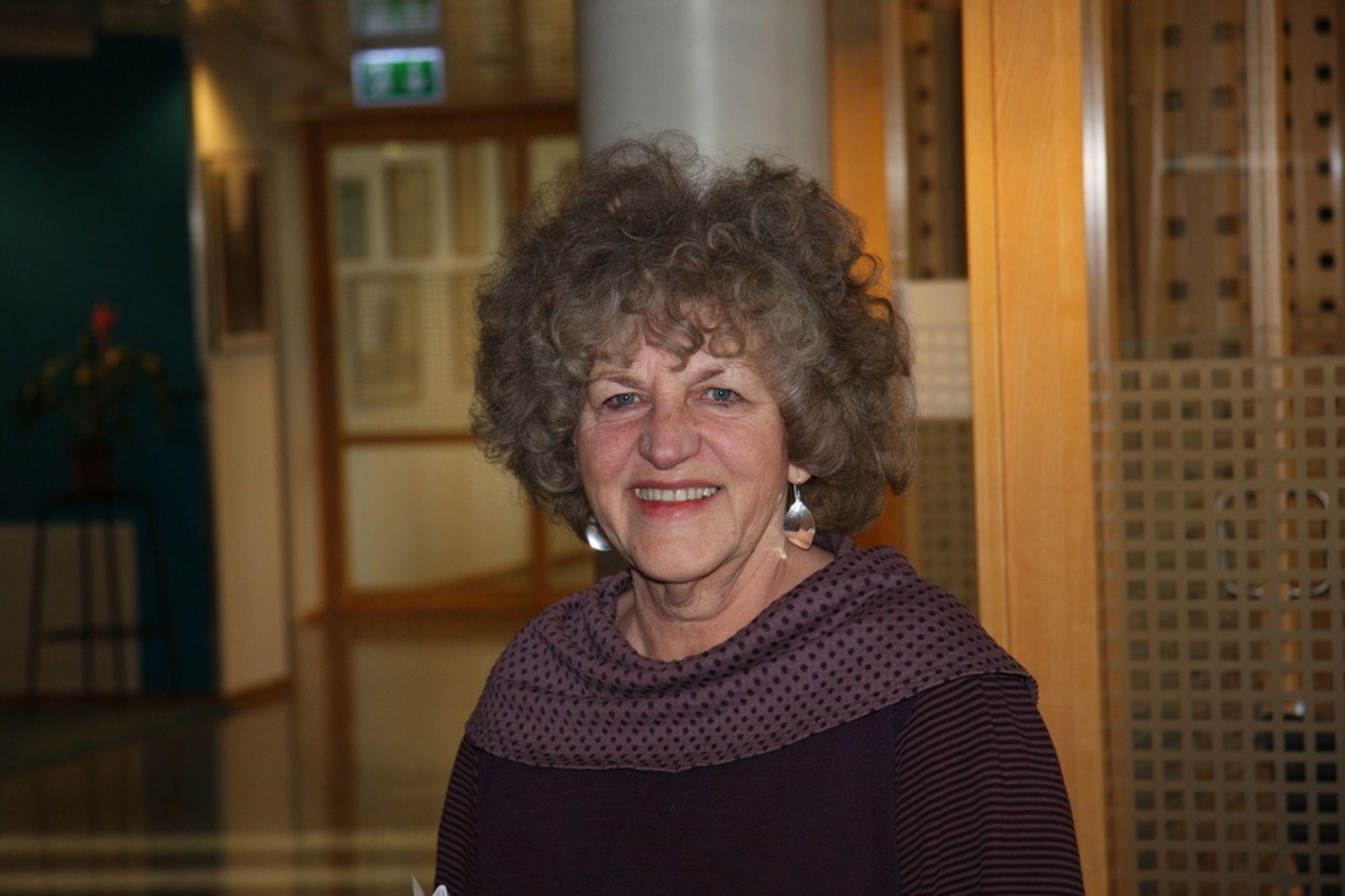 FREMTIDSRETTET: - Vi må tenke langsiktig i vår miljøstrategi, sier May Balkøy, direktør for Strategi og utvikling i Statsbygg.