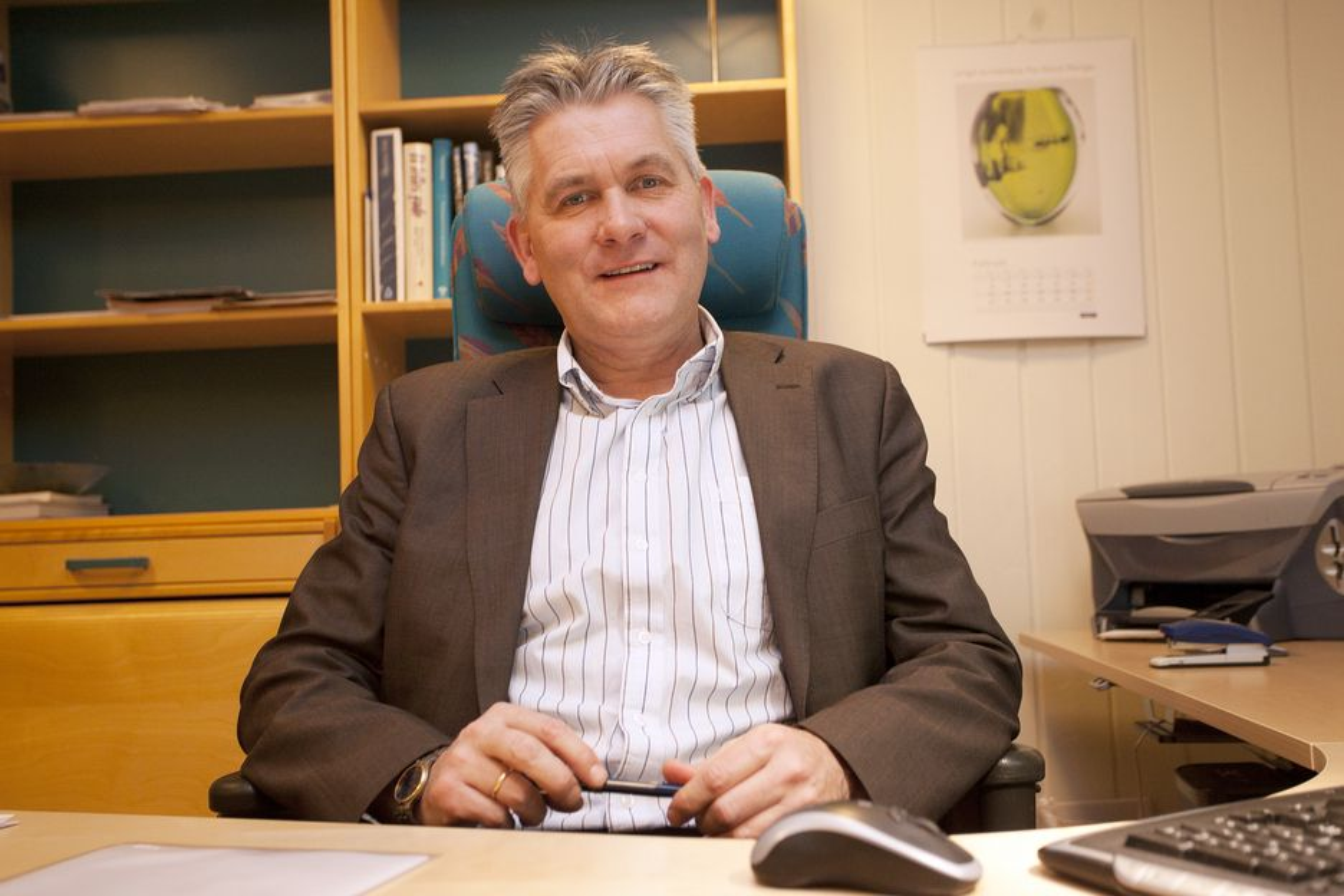 SKATTKAMMER: - Nordområdesatsingen vil tvinge seg frem. Nord-Norge er et skattkammer med olje, gass og bergressurser, sier konsernsjef Oddbjørn Schei i Troms Kraft.