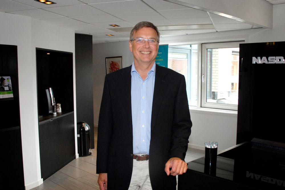 NYTTIG: Finansielle aktører som kjøper og selger kraft i fremtidsmarkedet gjør det mulig å bygge både industri og kraftverk, sier sjefen i Nasdaq OMX Oslo, Geir Reigstad.