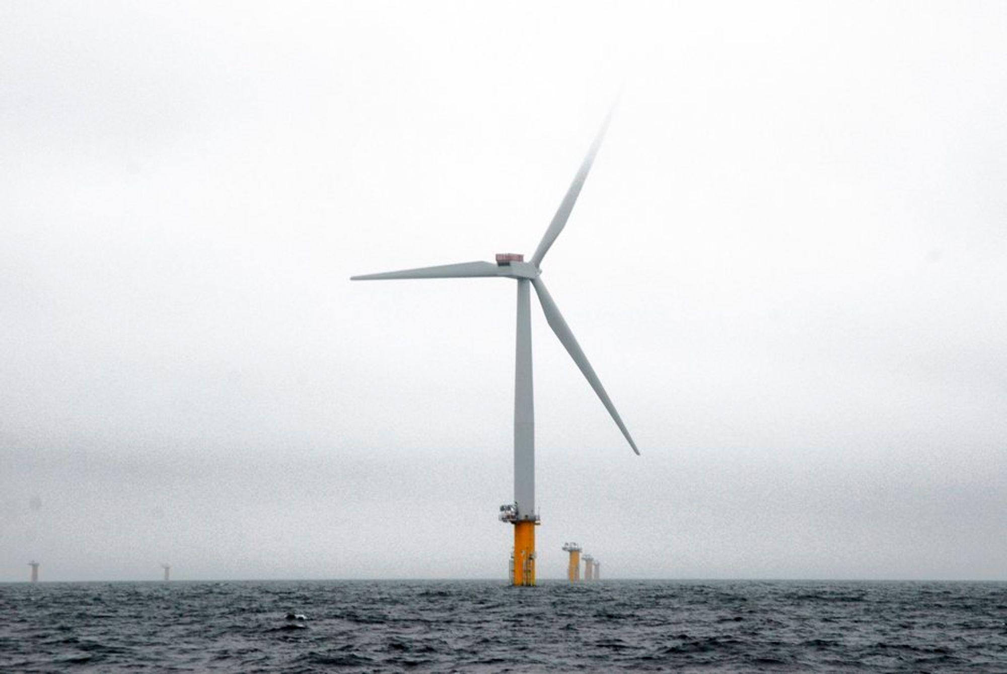 Lønnsomhet: Vindkraftprosjektet Sheringham Shoal er mindre lønnsomt enn Statoils oljeprosjekter.