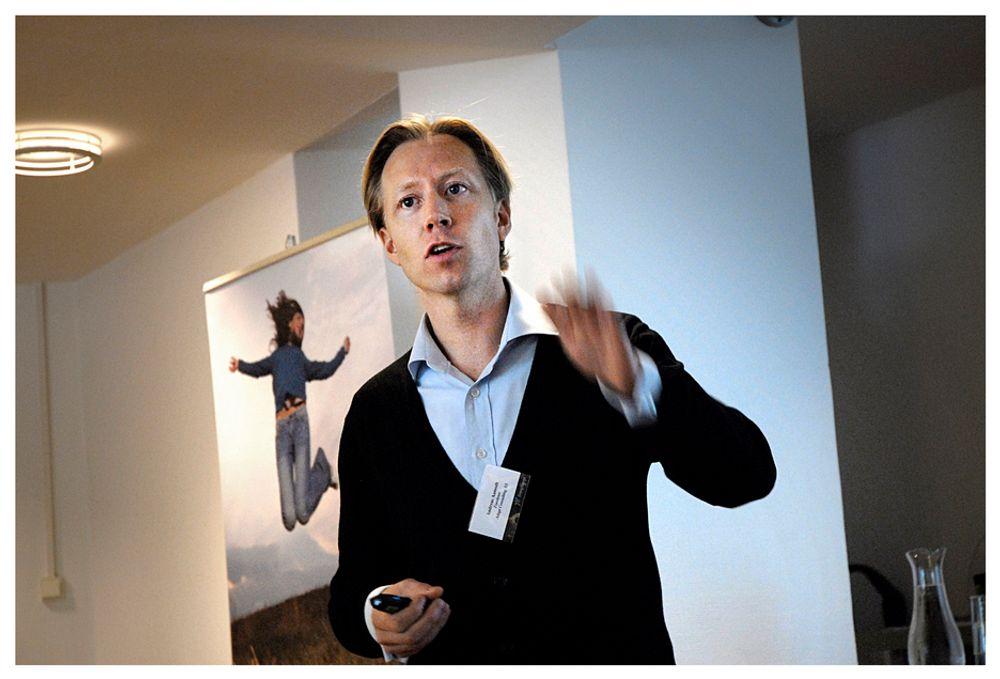 JUSTERBART MÅL: Hvis kraftoverskuddet blir stort på grunn av energieffektivisering, tror Andreas Aamodt i Adapt Consulting at myndighetene vil justere ned det norsk-svenske elsertifikatmålet som nå er på 26,4 TWh.