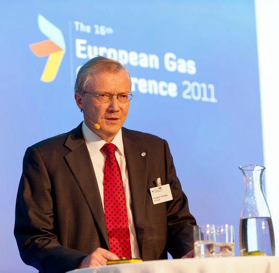 SØKELYSET?PÅ?ETTERSPØRSELSSIKKERHETEN:?Generalsekretær Torstein Indrebø i International Gas Union (IGU), mener etterspørselssikkerheten er underkommunisert. (FOTO: Svein Erik Dahl/G21).