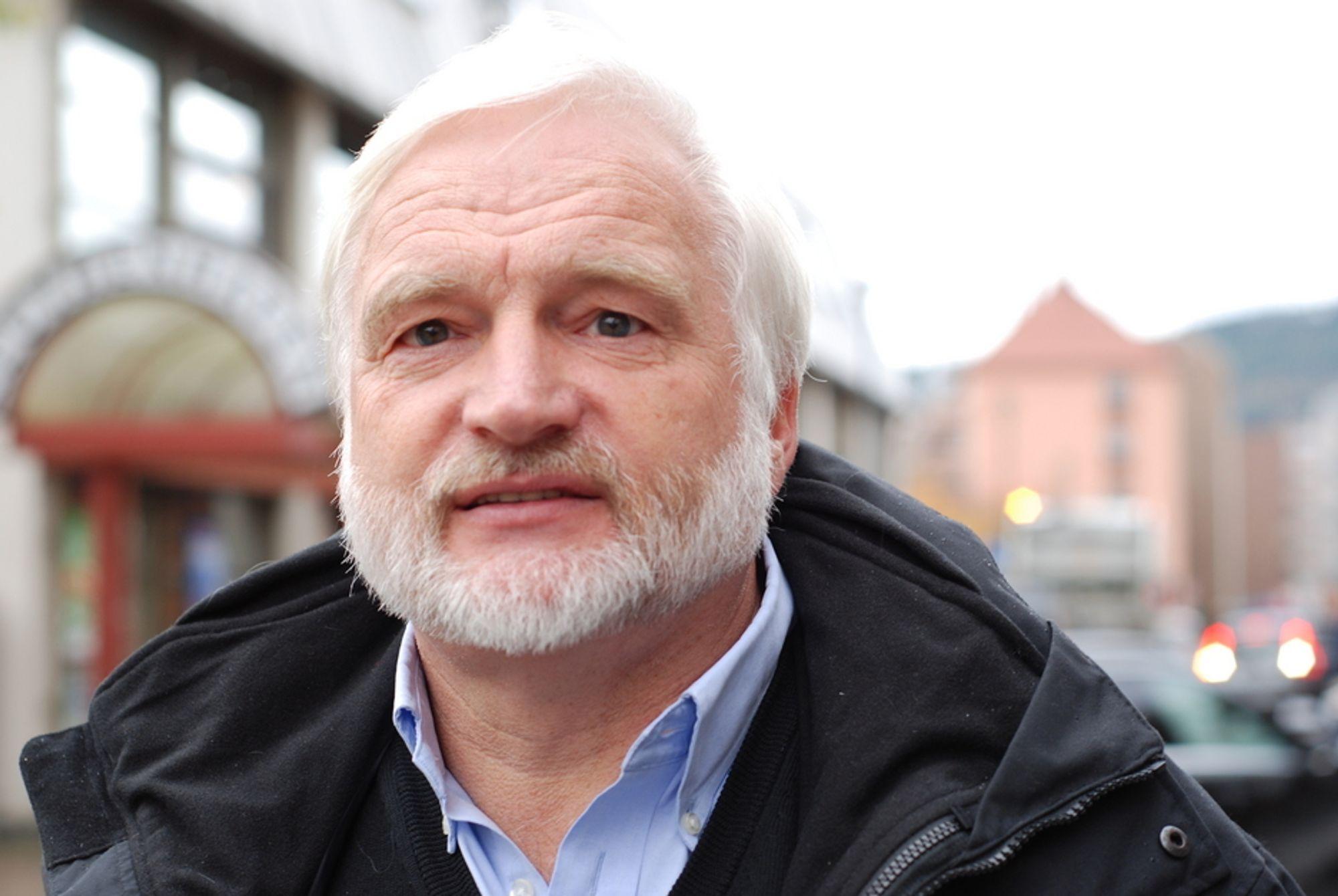 OPTIMIST: - Norske vannmagasin kan løse både klimautfordringen og kjernekraftutfordringen til Europa, mener professor Olav Hohmeyer.
