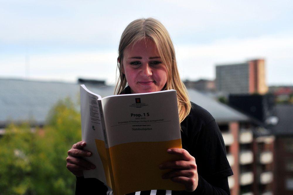 Dette vil uten tvil være med på å svekke ingeniørfagmiljøene i Norge, sier leder for NITO-studentene Kristine Nicolaisen.