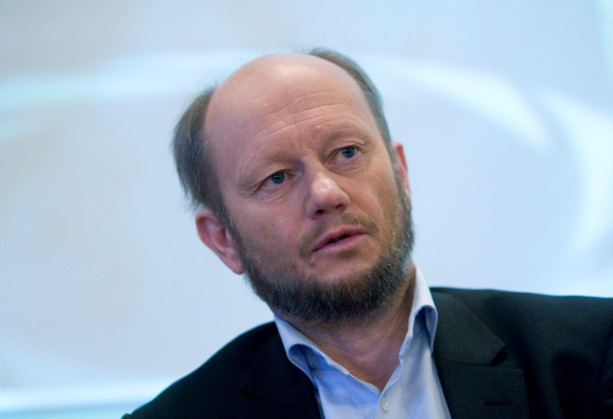 BÅDE OG: Stein Lier-Hansen i Norsk Industri er relativt fornøyd med neste års statsbudsjett.