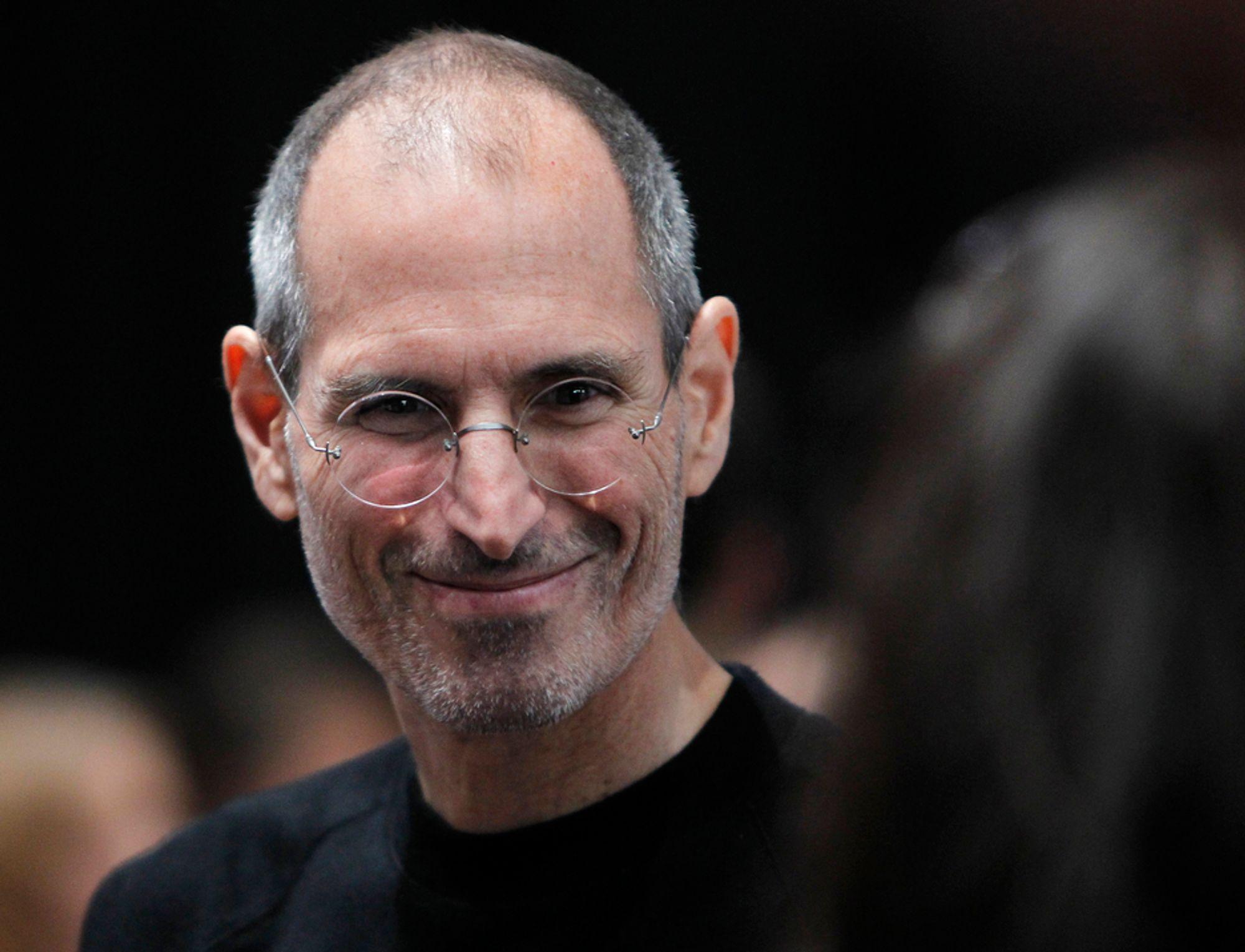 Apples styreformann og tidligere toppsjef Steve Jobs døde onsdag 5. oktober, 56 år gammel.