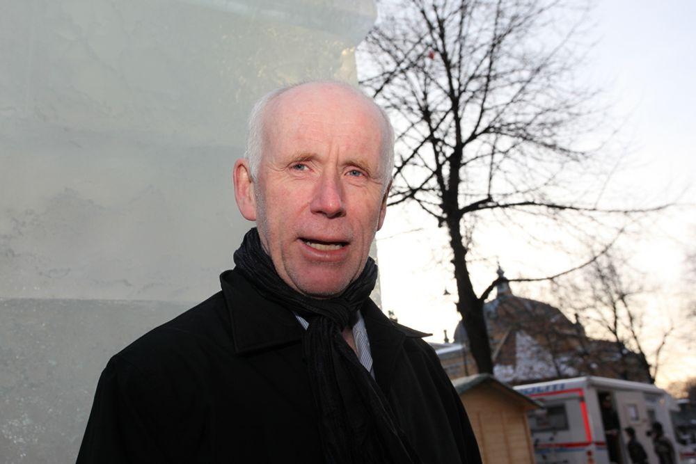 Den nye NVE-direktøren Per Sanderud synes vindmøller til havs er spennende, og mener Norge har liten innflytelse i EU.