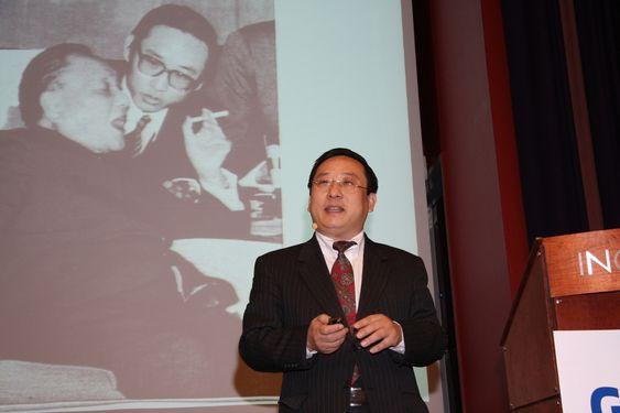 GIEK-seminar om forretningsmuligheter i Østen 31 mars 2011 GIEK-seminar om forretningsmuligheter i Østen 31 mars 2011. Victor Zhikai Gao, kommentator i kinesisk fjernsyn, tidligere visepresident i oljeselskapet CNOOC, leder for Beijing Private Equity Association og tidligere tolk for Deng Ziaoping.