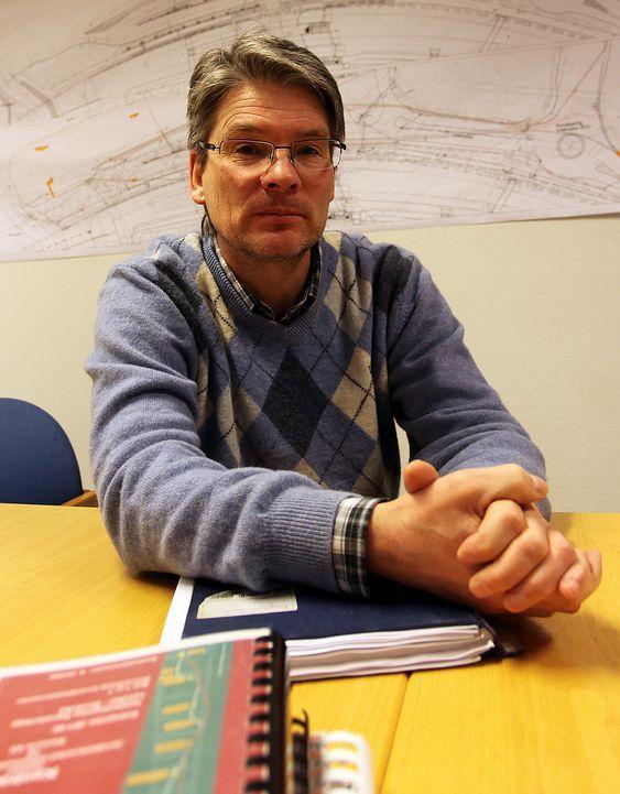 Bærumstunnelen, prosjektleder for jernbaneteknikk Knut-Erik Gudim