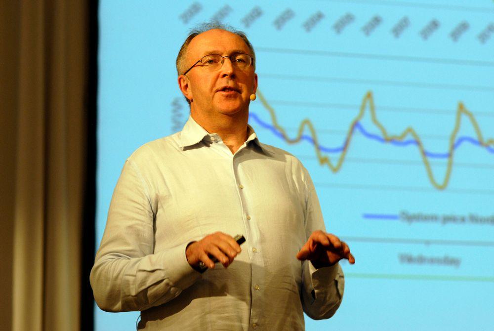 SAMARBEID: Industrien og kraftprodusentene må finne sammen, mener Hydros energidirektør Arvid Moss.