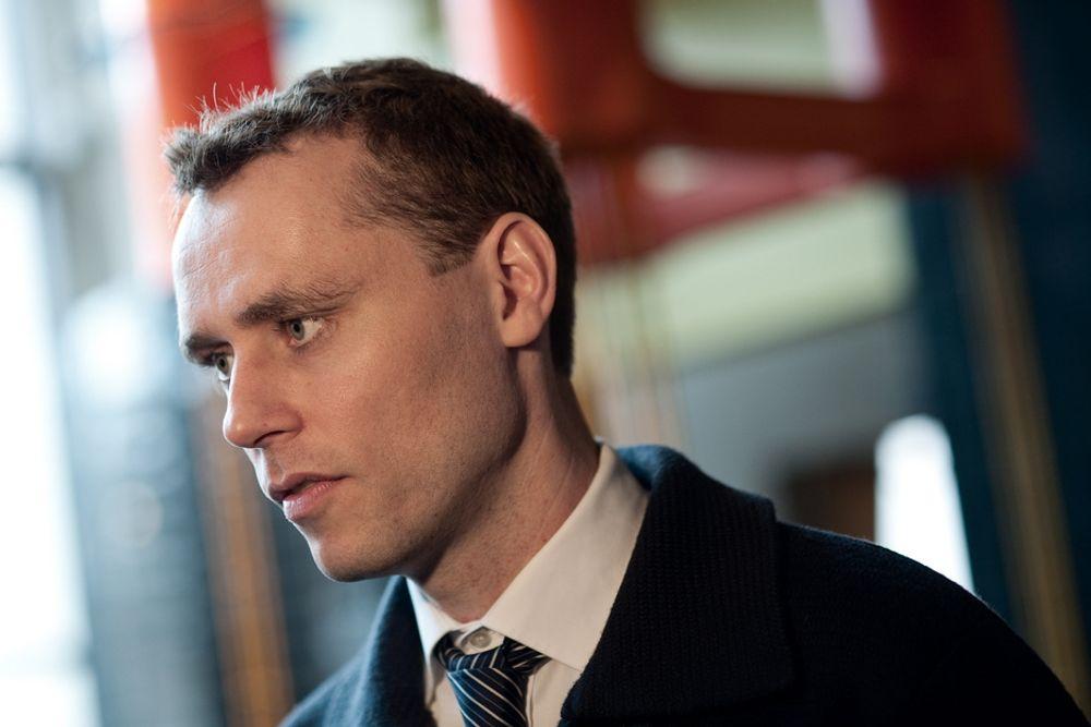 Olje- og energiminister Ola Borten Moe vil åpne for utbygging av Valemon.