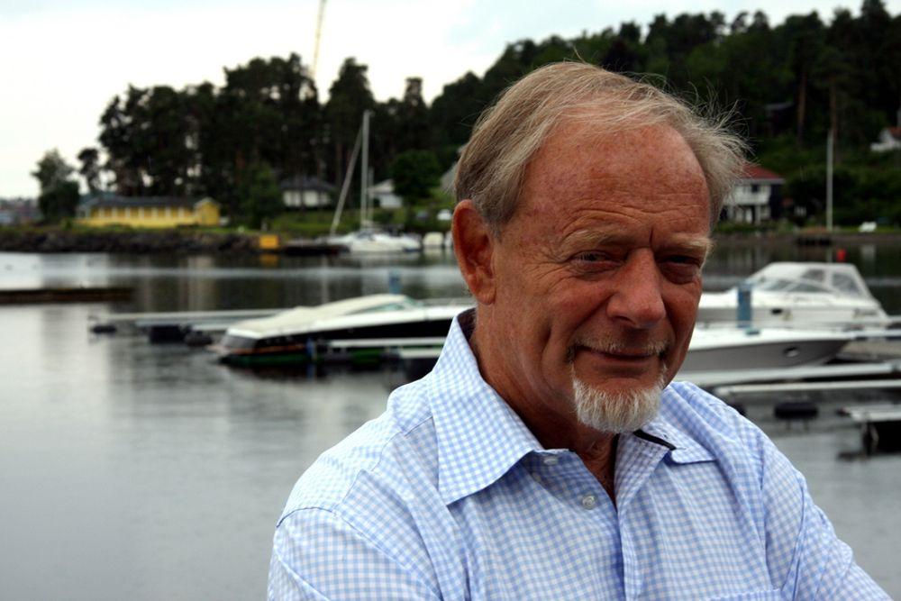FREMMER FELLESSKAP: Administrerende direktør Torstein Sanness.