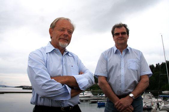 Torstein Sanness og Bjørn Sund, Lundin.