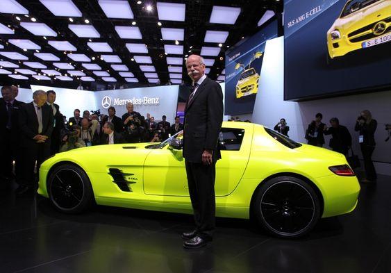 Dr. Dieter Zetsche, styreleder i Daimler og sjef for Mercedes-Benz.