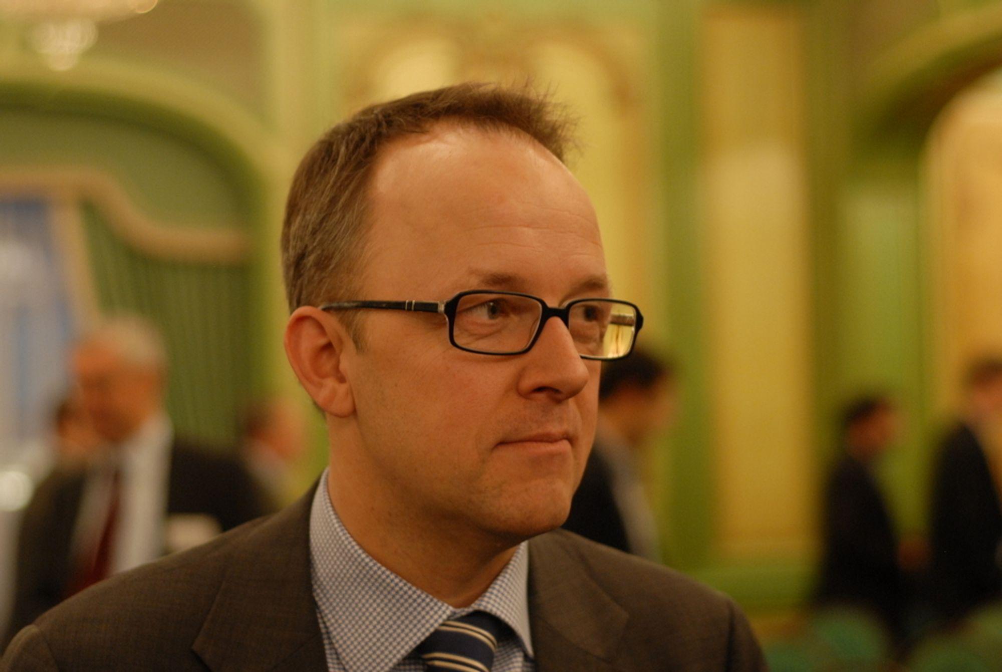 AMBISIØST: Det er ekstremt ambisiøst å innføring AMS i Midt-Norge innen 2013, mener Energi Norges administrerende direktør Oluf Ulseth.