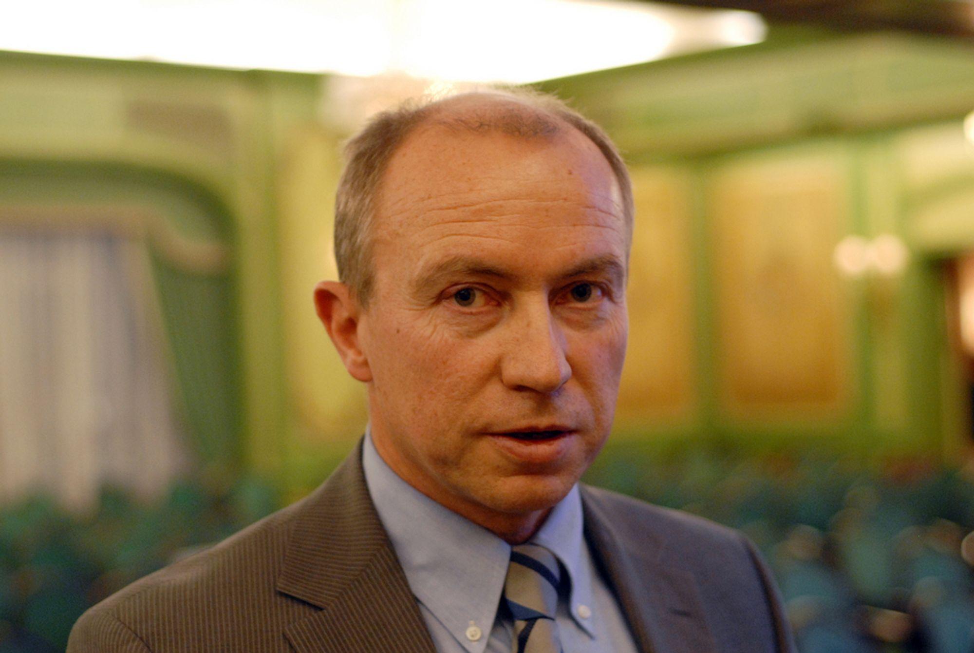 KRAFTMARKEDET FUNGERER: Statkraft-sjef Christian Rynning-Tønnesen mener kraftmarkedet fungerer, og at Statkraft håndterer vannet i magasinene på en forsvarlig måte.