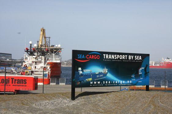 IDYLL: Sea-Cargo vil gjerne anløpe flere norske havner, men avgifter utgjør rundt 40 prosent av driftskostnadene. Det er billigere å sende godset videre på vei etter ankomst fra kontinentet.