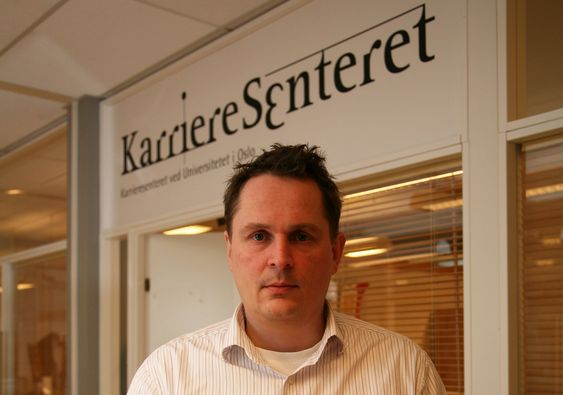 Gisle Hellsten, leder av Karrieresenteret ved Universitetet i Oslo.